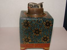 Vintage Collectible Old Rare Antique Porcelain Evans Table Lighter ...