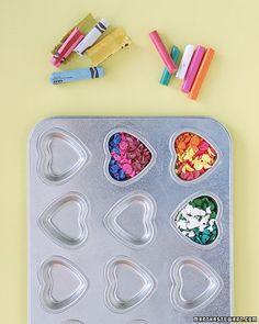 creativ, crafti, fun bake sale ideas, broken crayon, crazi crayon, activity for girl party, crazy crayons martha stewart, diy, thing