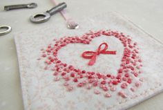 """Love this I can sew it into my husbands navy uniform inside pocket and """"you carry my heart"""" love!"""