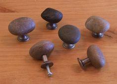 Stone door knobs