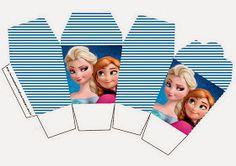 frozen favor, frozen parti, favor boxes, parti idea