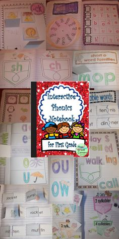 Interactive Phonics Notebook- tons of projects!  $