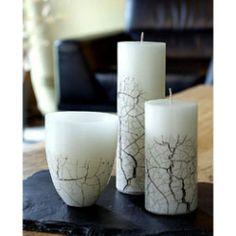 Birch Leaf Candles - Bed & Bath Decor - Bed & Bath