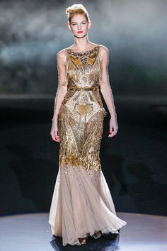 New York Fashion Week: Badgley Mischka. Fall/Winter 2013/2014