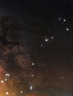 Antares star and Scorpius Constellation by Cesar Cantu............Tumblr