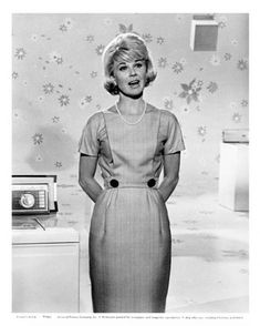 Doris Day, in a scen