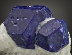 Lapis Lazuli -  a combination of the mineral Lazurite- ( the dark blue component)  Calcite ( the whitish parts) and often times but not always Pyrite ( the goldish bits) from Koksha Valley, Badakhshan Province, Afghanistan