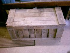 $10 DIY - Pallet-Trunk