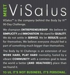 ViSalus 90 Day Challenge  join at: www.cindyschallenge.com