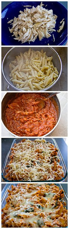 Latest Food: Chicken Penne Bake