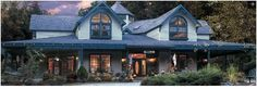 The luxurious Eight Gables Inn in Gatlinburg, TN