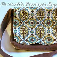Reversible Messenger Bag Tutorial