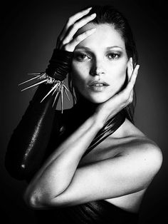 Kate Moss photographed by Mert & Marcus for Interview magazine, September 2013.