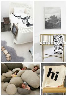 more modern-neutral outdoor-themed nursery inspiration | Room for Two | Move LifeStyle
