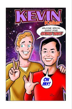 Twitter / GeorgeTakei: Here's a sneak peak of what I look like in the upcoming KEVIN KELLER comic. It's great kids get to see gay role models. pic.twitter.com/0GnKjNRH