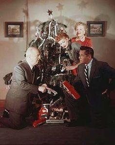 I Love Lucy Christmas Photo