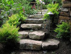 Stonework Ideas, Retaining Walls, Landscape Steps - Seattle, Bellevue, Washington - Environmental Construction