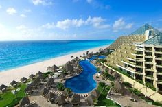 Gran Melia, Cancun Mexico.  Gorgeous.  I want to go back!