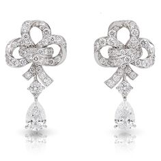 Faberge  diamond and gold earrings Jewelry