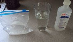 Make your own shapeable ice pack!