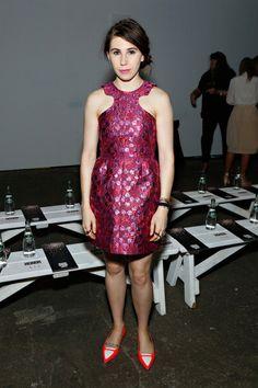 Zosia Mamet Tells @Fashionista.com Why Shoshanna's Hair Is Always So Crazy