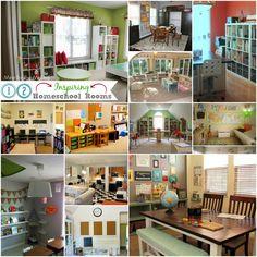 homeschoolfutur idea, twelv inspir, inspir homeschool, homeschool space, homeschool room, 12 inspir, homeschool resourc
