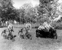 dutch indies police in madiun, 1920