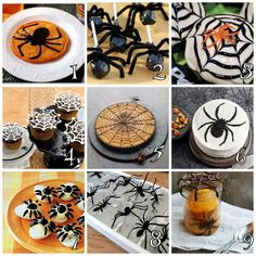 The Ultimate Halloween Spider Roundup of tutorials, products, etc...
