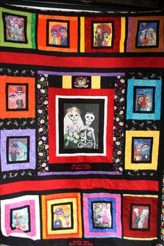 Wedding Quilt Day of the Dead