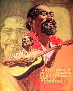 Gabby Pahinui, painting by Herb Kawainui Kāne.