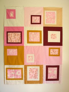 adorable baby quilt by @yahaira