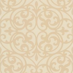 Dl30628 Beige Ironwork - Sonata - Decorline Wallpaper