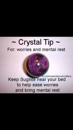 Sugilite crystal meaning
