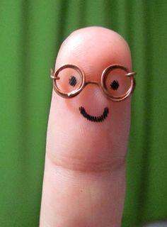 finger art - cute hahaha