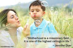 The Noble Task of Motherhood
