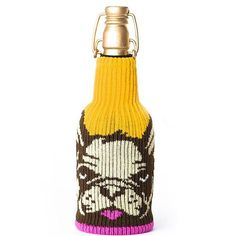 """French Dip"" Big Booty Bottle Cover (Multicolor) #InkedShop #Frenchie ##FrenchBullDog #bottlecover #bottle #homegoods"