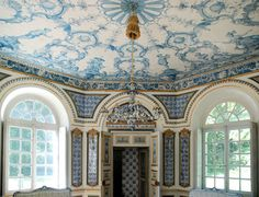 Sumptuous. This is the octagonal Pagondenburg Palance built by Joseph Effner in Nymphenburg Park (Germany).  Image by Flickr photographer Wolfsraum.