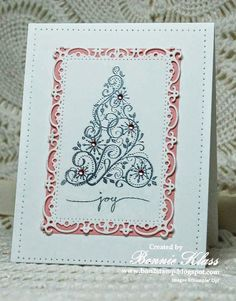 Stamping with Klass: Merry Monday Pink and Silver