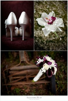 purple wedding calla lillies orchid