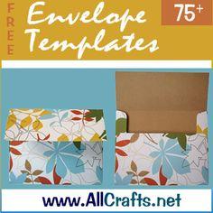 <p>75+ Free Envelope Templates</p>