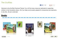 The Gruffalo Preschool Pack - A wide variety of resources.