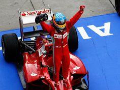 Alonso wins Malaysian GP, leads WDC points