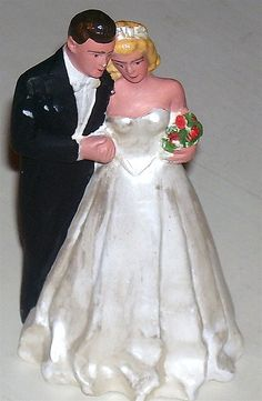 Vintage Wedding Cake Topper #dental #poker