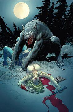 Werewolf by Frank Cho
