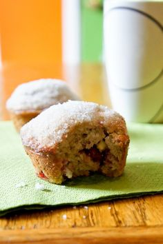White Chocolate Raspberry Muffins by Om Nomalicious