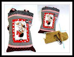 Como fazer uma linda bolsa para tricot
