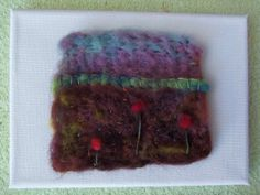 Hand Felted Miniature Landscape by artmixter on Etsy, £15.00