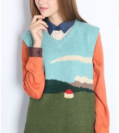 Neverland collection blue sweet my little house por PurpleFishBowl2, $75.00 hous por, little houses, collect blue, sweater dresses, blue sweet, hous sweater