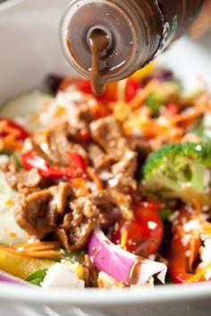 savori recip, 400 calori, salad formula, salad idea, healthi food