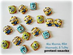 Sugar Swings! Serve Some: Despicable Me 2 and Monsters University Pretzel Snacks!